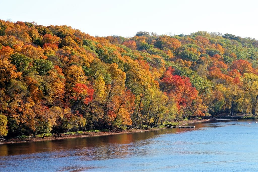 Minnesota Fall Colors at our Stillwater, MN Hotel