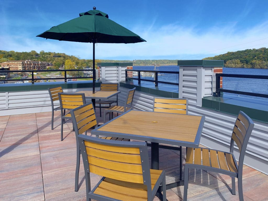 The dazzling view from our rooftop pub makes our Stillwater Mn Hotel a literal must-see.